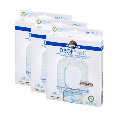 DROP®MED 8 cm x 10 cm – Vorteilspack (3 oder 5 Packungen)