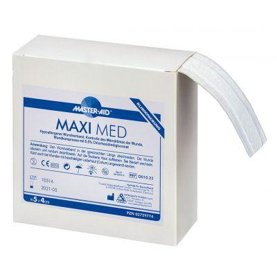 Verpackung Master Aid MAXI MED – Wundschnellverband mit antibakterieller Wundauflage