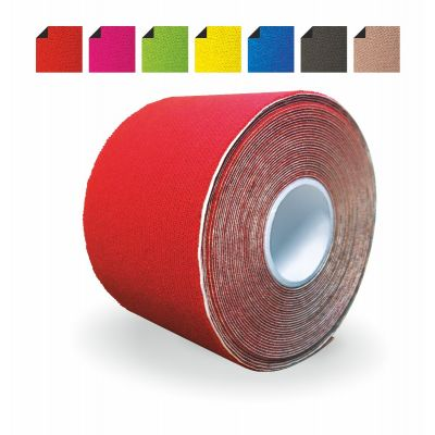 Einzelrolle Master Aid PERFORMANCE TAPE – kinesiologisches Tape in rot