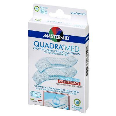 QUADRA®MED – sanftes, atmungsaktives Wundpflaster (2 Formate)