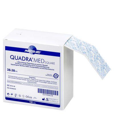 QUADRA®MED SQUARE – kleiner quadratischer Vlieswundverband
