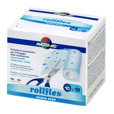 rollflex® ACQUA STOP – transparente Fixierfolie