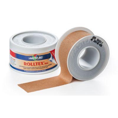 Verpackung und Einzelrolle ROLLTEX® Skin hautfarbenes Spulenpflaster
