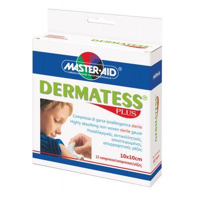 Verpackung der sterilen Kompressen DERMATESS Plus