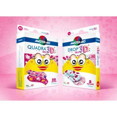 Abbildung beider Packungen, die im Vorteilspack enthalten sind: QUADRA 3D Girls und Drop 3D Girls
