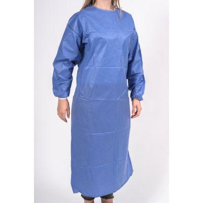 OP-Mantel Blau Frontansicht
