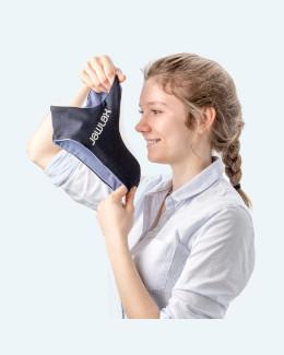 Anwendungsbeispiel JawLax-Wärmeset - Anlegen des Trägerbandes